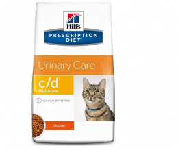Ветеринарный корм для кошек - Hill's  Feline c/d, 0.4 кг