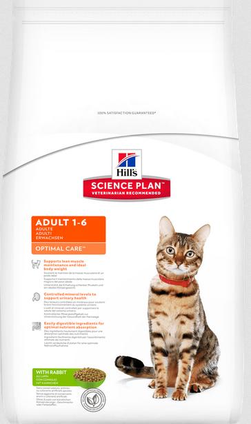 Barība kaķiem - Hills Feline Adult Rabbit, 2 kg