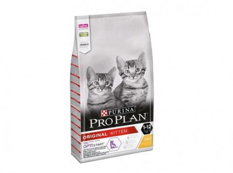 Корм для котят - Pro Plan ORIGINAL Cat Chicken START, 0,4 кг