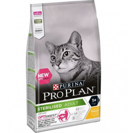 Bar­ība kaķiem - Pro Plan STERILISED Cat Chicken DIGEST, 0.4 kg