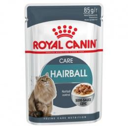 Konservi kaķiem - Royal Canin Feline Hairball Care (mērcē), 85 g