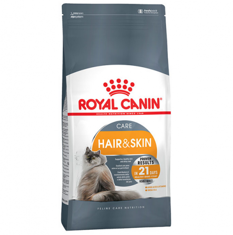 Корм для кошек - Royal Canin Feline Hair & Skin Care, 0,4 кг title=