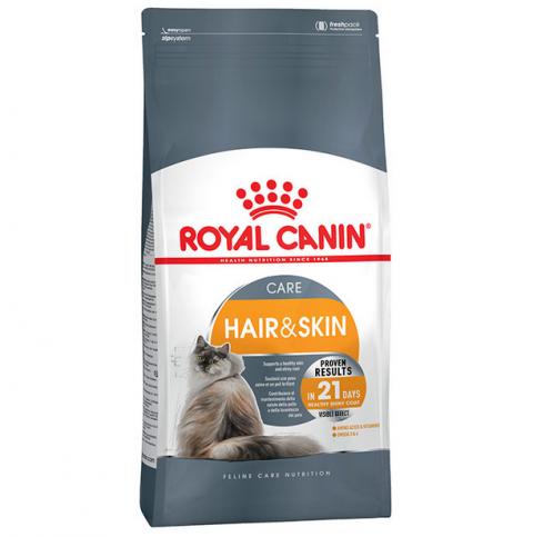 Корм для кошек - Royal Canin Feline Hair & Skin Care, 4 кг  title=