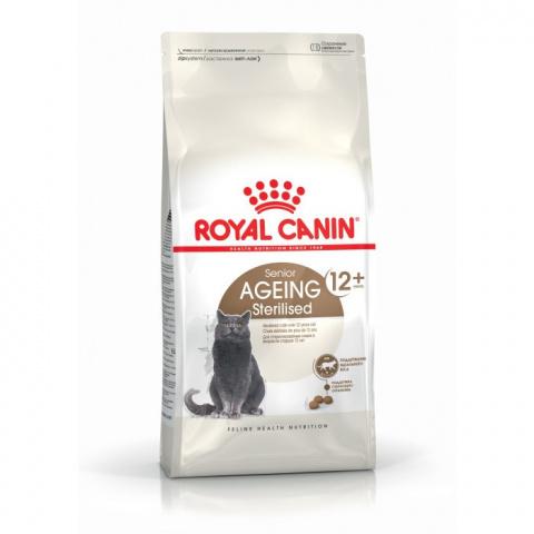 Barība kaķiem - Royal Canin Feline Sterilised +12, 0,4 kg title=