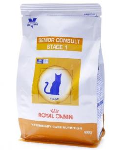 Veterinārā barība kaķiem - Royal Canin Senior Consult Stage 1, 0.4 kg