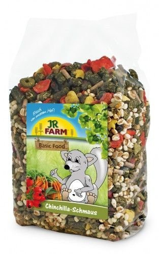Barība šinšillām - JR FARM Chinchillas' feast, 1,2 kg