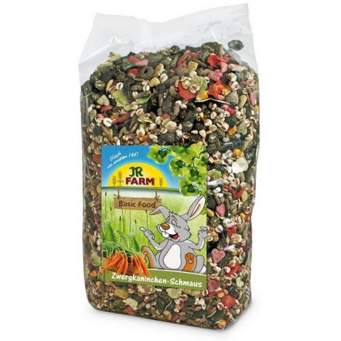 Barība grauzējiem - JR FARM Super Rodents' Food 1 kg