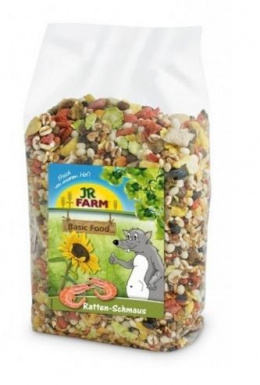 Barība žurkām - JR Farm Rats feast, 600 g
