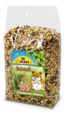 Корм для карликовых хомяков - JR FARM Dwarf hamsters' feast, 600 г