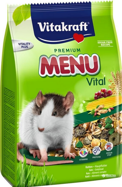 Barība žurkām - Menu for Rats 400g title=