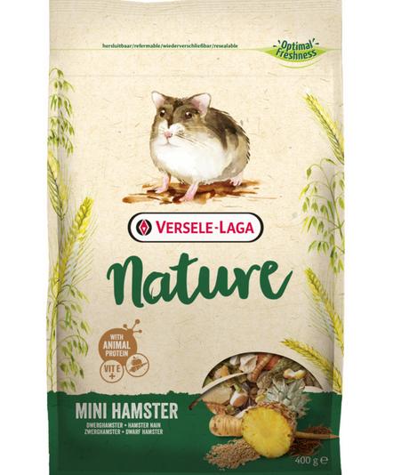 Barība pundurkāmjiem – Prestige Mini Hamster Nature, 400 g title=