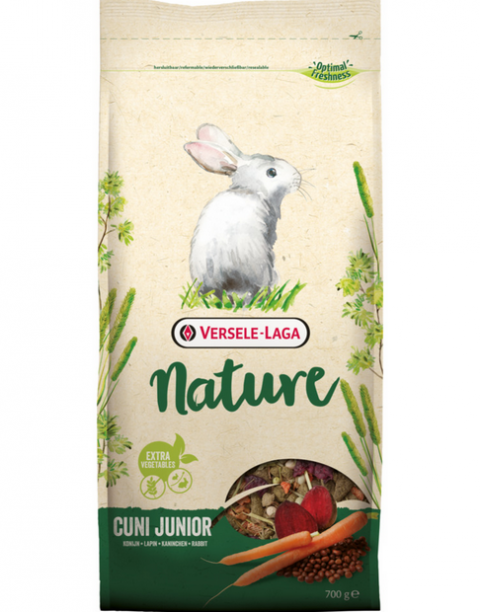 Barība trušiem - Versele-Laga Prestige Cuni Junior Nature 750 g