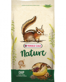 Barība  burundukiem - Prestige Chip Nature 750g