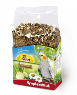 Bar­ība korelām - JR Farm Birds Individual Cockatiels 1 kg