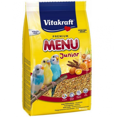 Barība putniem - Vitakraft Menu Kids for Budgies, 500 g