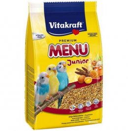 Корм для птиц - Vitakraft Menu Kids for Budgies, 500 г