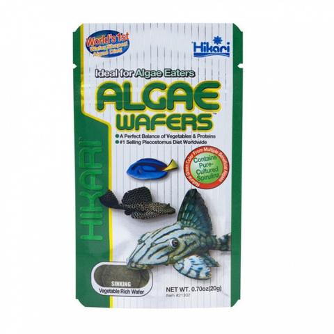 Корм для рыбок - Hikari Tropical Algae Wafers, 20 g title=