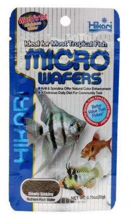 Barība zivīm - Hikari Tropical Micro Wafers, 20 g