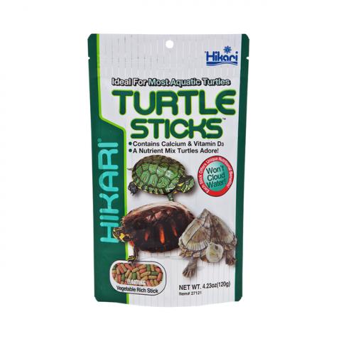 Корм для черепашек - Hikari Reptile Turtle Sticks / палочки 120 gr