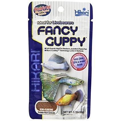 Barība zivīm - Hikari Tropical Fancy Guppy, 22 g