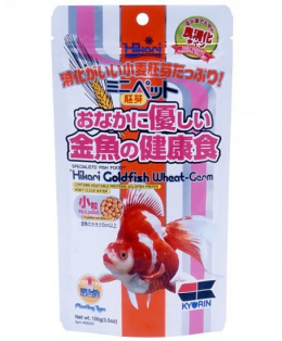 Barība zivīm - Hikari Goldfish Wheat-Germ Mini Pellet, 100g