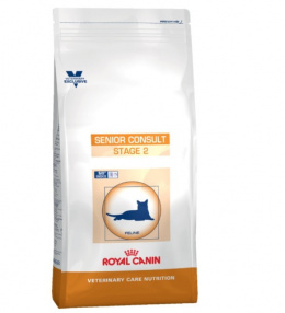 Veterinārā barība kaķiem - Royal Canin Senior Consult Stage 2, 6 kg