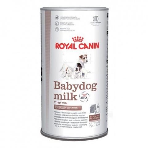 Заменитель материнского молока для щенков - Royal Canin SHN Baby Dog Milk 0,4 кг title=