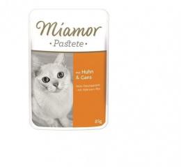 Konservi kaķiem - Miamor Pastete (pouch) Chicken&Goose, 85 g