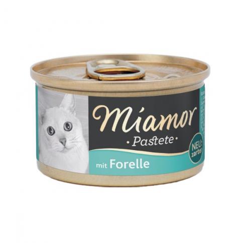 Konservi kaķiem - Miamor Pastete Trout, 85 g  title=