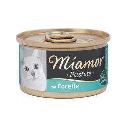 Konservi kaķiem - Miamor Pastete Trout, 85 g
