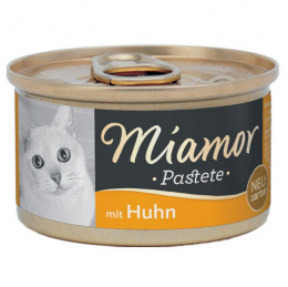 Консервы для кошек - Miamor Pastete Chicken, с курицей,  85 г