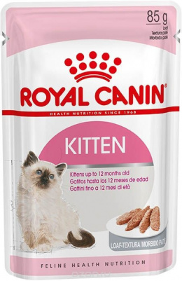 Konservi kaķēniem - Royal Canin Feline Kitten Instinctive (loaf), 85 g