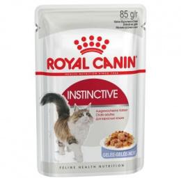 Konservi kaķiem - Royal Canin Feline Instinctive (želejā), 85 g