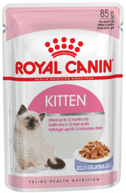 Консервы для котят - Royal Canin Feline Kitten Instinctive (в желе), 85 г