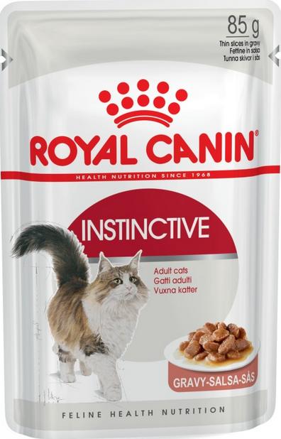 Консервы для кошек - Royal Canin Feline Instinctive (в соусе), 85 г title=