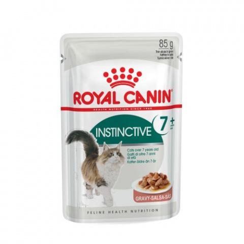 Konservi kaķiem - Royal Canin Feline Instinctive 7+, 85 g title=