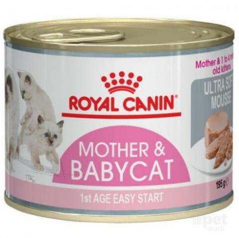 Konservi kaķēniem - Royal Canin Feline Babycat, 195 g title=