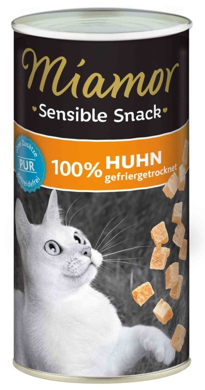 Gardums kaķiem - Miamor Sensible Snack Chicken Pur, 30 g title=
