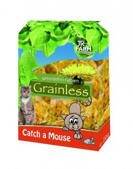 Gardums kaķiem - JR FARM Cat Grainless Catch a Mouse 30 g