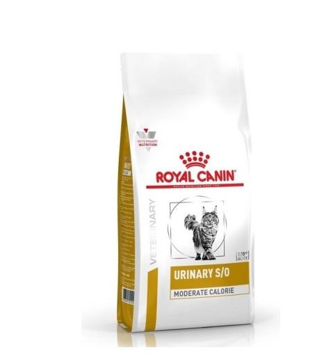 Veterinārā barība kaķiem - Royal Canin Feline Urinary S/O Moderate Calorie, 3.5 kg
