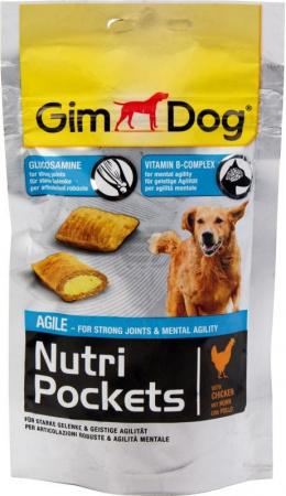 Лакомство для собак - GimDog Nutri Pockets Agile, 45g