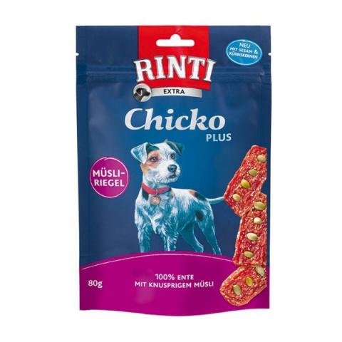 Gardums suņiem - Rinti Extra Chicko Plus Duck & Pumpkin seeds, 80 g