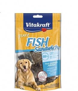 Gardums suņiem - Vitakraft Fish Sandwich, 80 g