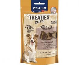 Лакомство для собак - Vitakraft Treaties Bits Liver Sausage, 120 г