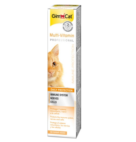 Паста для кошек - GimCat Multi-Vitamin plus with TGOS, 20 г title=