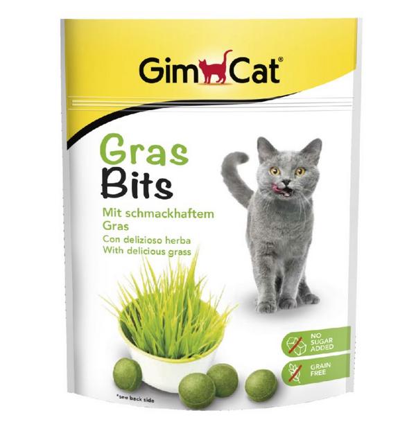 Лакомство для кошек - GimCat GrasBits, 15 г