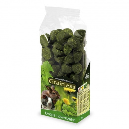 Gardums grauzējiem - JR FARM Grainless Drops Dandelion 140 g