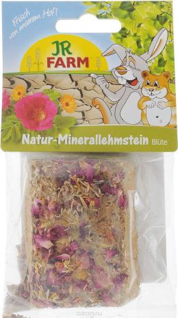 Минеральный камень для грызунов - JR FARM Natural mineral adobe blossom 100 g