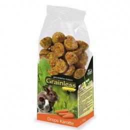 Gardums grauzējiem - JR FARM Grainless Drops Carrot 140 g