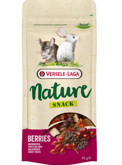Gardums grauzējiem - Versele Laga Nature Snack Berries, 85 g